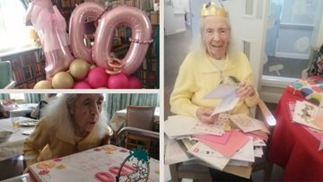 Newton Heath Resident marks 100th birthday